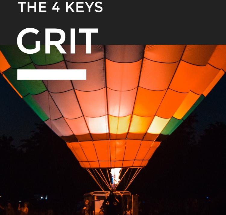 THE 4 KEYS GRIT